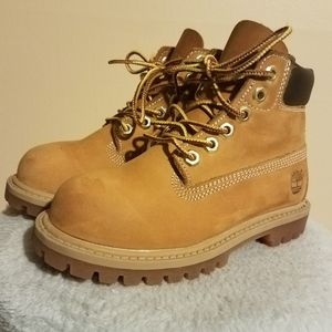 TIMBERLAND TODDLER WINTER BOOTS #12809 SIZE 10M